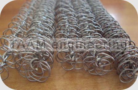 Turbulator Manufacturer Wire Matrix Turbulators Tube